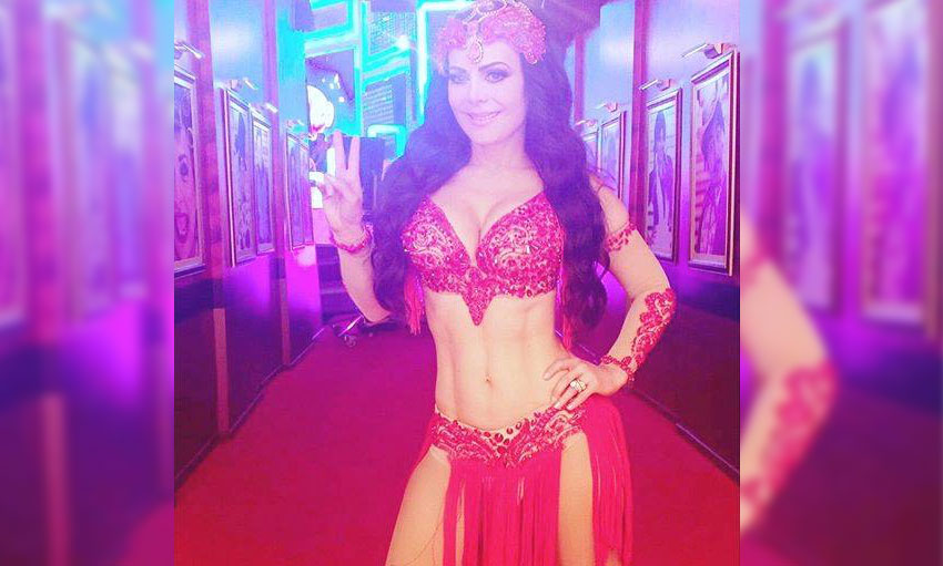 Maribel Guardia en Orlando Florida