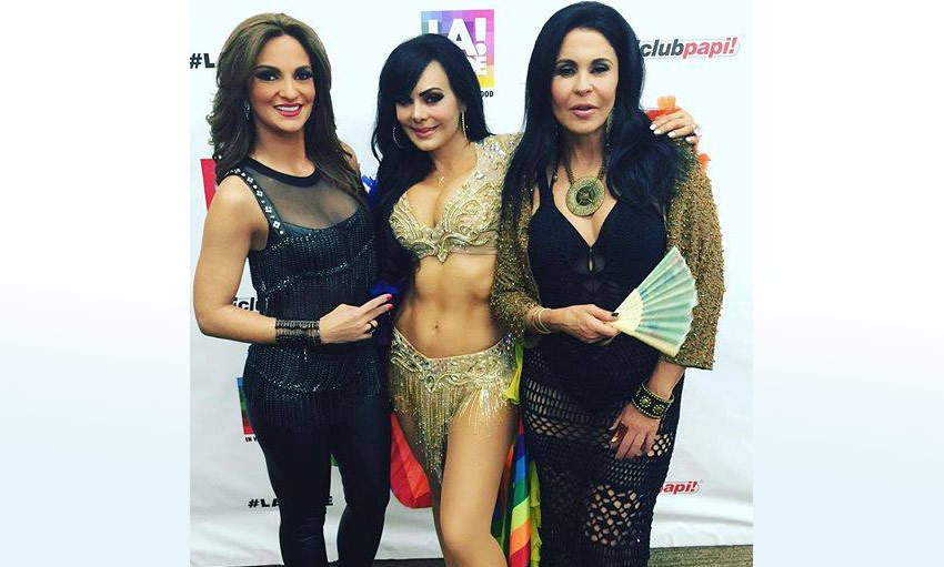 Maribel Guardia Gay Pride