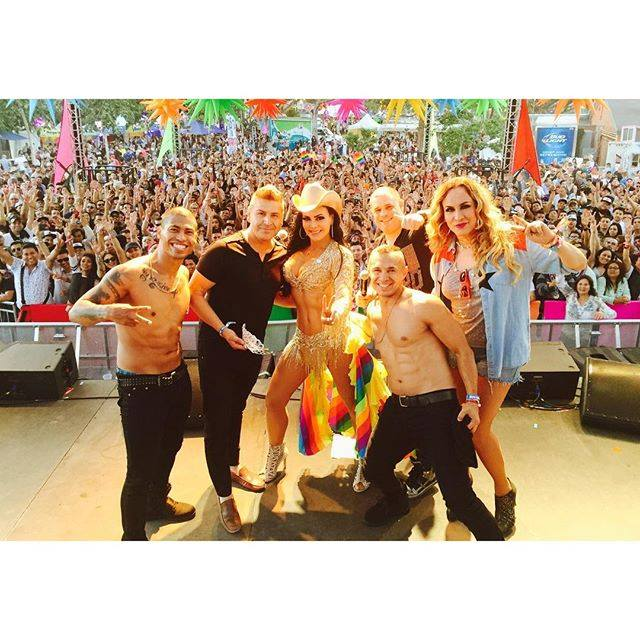 Maribel Guardia - Reina Gay Los Angeles 2016