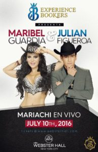 Maribel Guardia y Julián Figueroa en vivo NYC