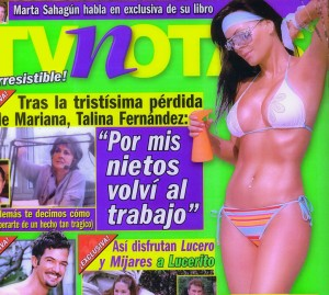 Maribel Guardia - Portada de Revista