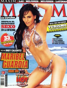 Maribel Guardia - Portada de Revista
