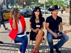 Maribel Guardia y Julián Figueroa en Despierta America